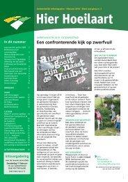 een confronterende kijk op zwerfvuil - Website Gemeente Hoeilaart