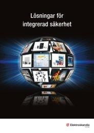 Lösningar för integrerad säkerhet - Elektroskandia Sverige AB