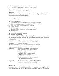 Systemisk Lupus Erythenatosus