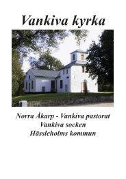 Vankiva kyrka - Norra Åkarps Församling