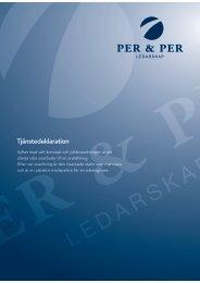 Läs mer om Jobbcoachning (PDF) - Per & Per ledarskap