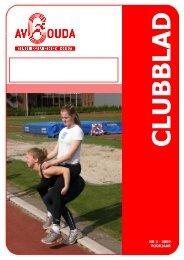 Clubblad Voorjaar 2009.pub - AV Gouda