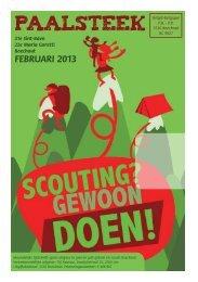 paalsteek februari - Scouts Boechout