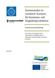 Systemanalys av vasskörd i kustzon för biometan - Regionförbundet ...