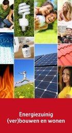 Energiezuinig (ver)bouwen en wonen - Huisvestingsdienst Regio ...