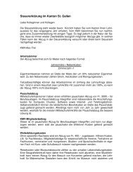 Steuertipps 2010 - KMV St. Gallen