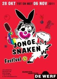 kalender jonge snaken festival#2011 - Gezinsbond Gewest Brugge