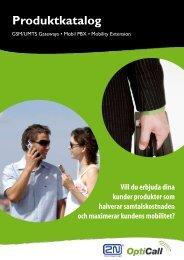 Ladda ned 2N's produktkatalog (2008) - OptiCall.se