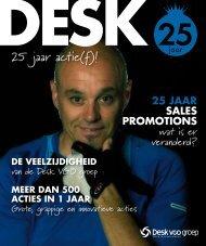 25 jaar actie(f)! - Desk VGO groep