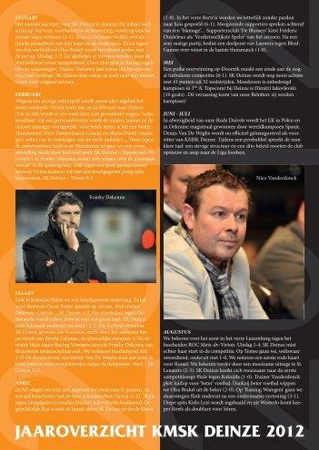 Jaaroverzicht 2012.pdf - KMSK Deinze