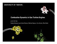Combustion Dynamics in Gas Turbine Engines