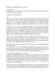 FEDERALE OVERHEIDSDIENST JUSTITIE (rekeningstelsel) - Kantoor