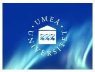Dansundervisning och genus… - Umeå universitet
