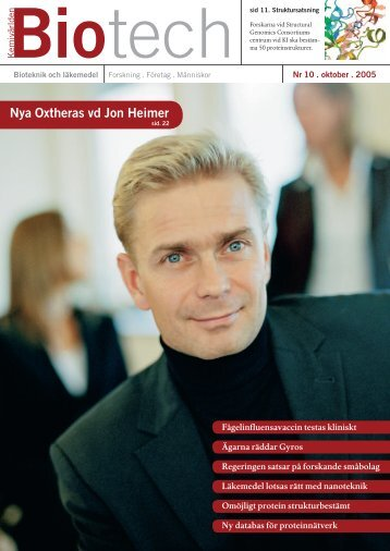 Nya Oxtheras vd Jon Heimer - Mentoronline.se