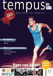 Interview met Hans van Alphen - Tempus Magazine - Hogeschool ...
