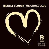 HJERTET BLØDER FOR CHOKOLADE - Peter Beier Chokolade