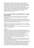 Syntetiska kosttillskott - Utbildningscenter - Page 4