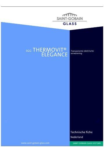 SGG THERMOVIT ELEGANCE - Saint Gobain Glass