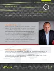 company Information client list - dtank