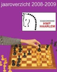 Jaarboek 2008-2009 - HWP Haarlem