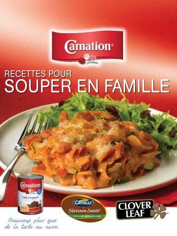 SOUPER EN FAMILLE - Carnation Milk