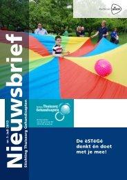 Nieuwsbrief S.T.G. 13e jaargang nummer 2, juli 2013 - Stichting ...