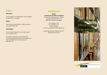 Contactgegevens WIVO Schakel tussen Mens en Bestuur ... - Winob