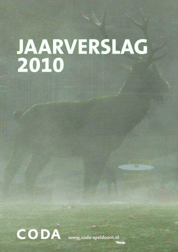 Jaarverslag 2010 - Coda