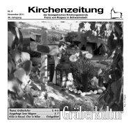 Kirchenzeitung 2-2010 - Ev. Kirchengemeinde Franz von Roques