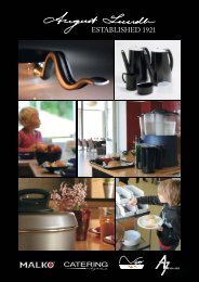 Download our entier cataloge in PDF - August Lundh