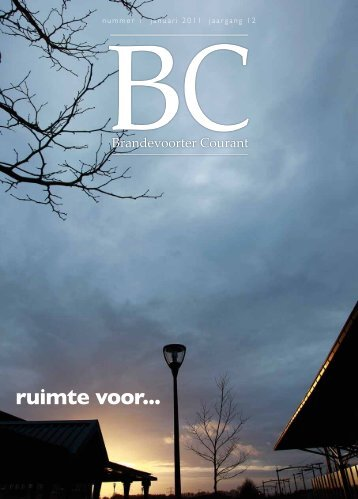 Artikel in Brandevoorter Courant december 2011 - Bas Schepers ...