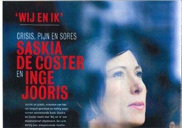 HUMO: Interview met Saskia De Coster en Inge Jooris