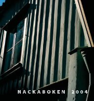 Nackaboken 2004 - Nacka kommun
