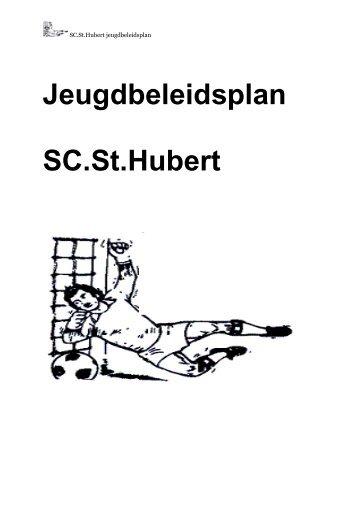 Jeugdbeleidsplan SC.St.Hubert