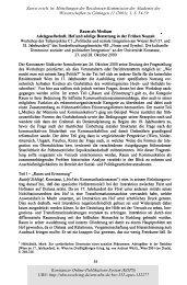 Raum als Medium - KOPS - Universität Konstanz