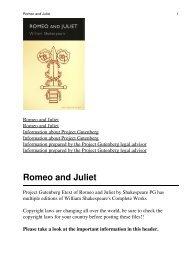 Romeo and Juliet - Adab-Sy.Com