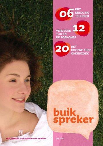 Buikspreker juni 2012 - Endometriose stichting