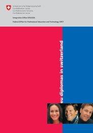 EU diplomas in Switzerland - CH