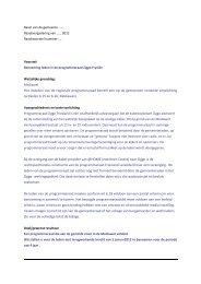 05-bijl programmaraad Ziggo (pdf) - Gemeente Franekeradeel