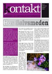 'Kontakt' for februar-marts 2011. - Hjørring Baptistkirke