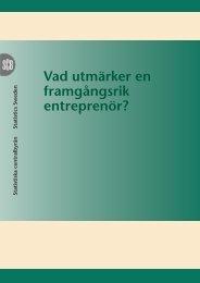 Vad utmärker en framgångsrik entreprenör? (pdf) - Kollega