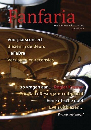 Fanfaria februari 2010 - Zaandijks Fanfare Corps