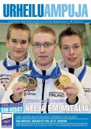 Urheiluampuja 2-2010.pdf - Suomen Ampumaurheiluliitto