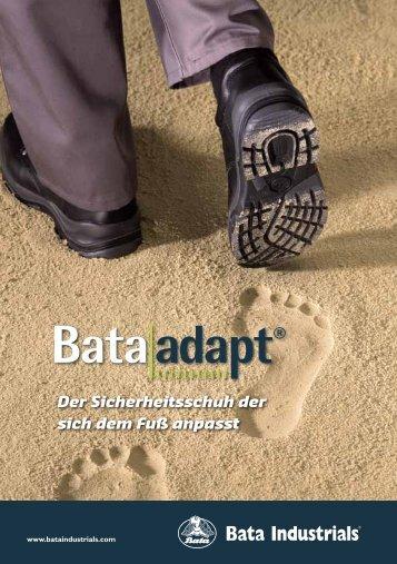 Der Sicherheitsschuh der sich dem Fuß anpasst - Bata Industrials ...