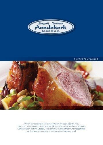 Koud buffet - Aendekerk slagerij