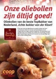 Oliebollen van de beste TopBakker van Nederland ... - Holwerd Online