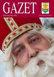 Editie December 2012 - Gazet - Dierdonk