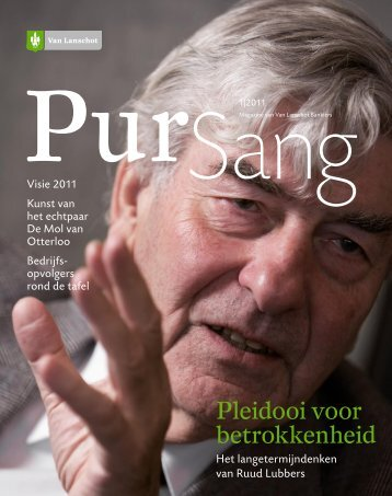 Pleidooi voor betrokkenheid - PurSang 2010-3