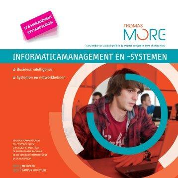 Brochure - Thomas More