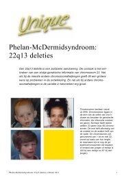 Phelan-McDermid syndroom